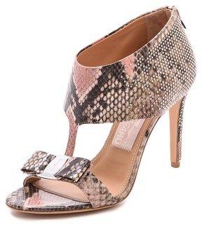 Salvatore Ferragamo Pellas Studded T Strap Sandals
