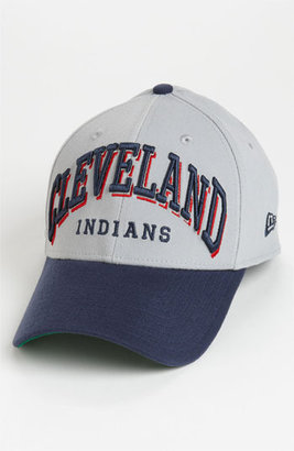 New Era Cap 'Cleveland Indians - Arch Mark' Fitted Baseball Cap