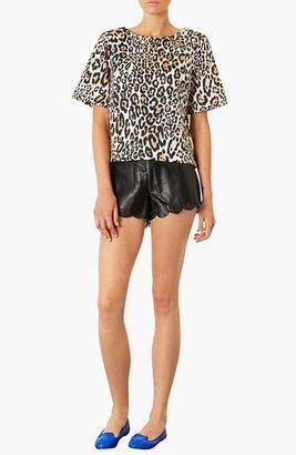Topshop Laser Cut Shorts