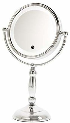 Danielle Creations Touch Button Led Lighted Mirror with Dimmer