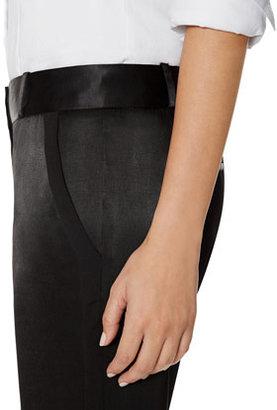 The Limited Drew Tuxedo Stripe Bootcut Pants