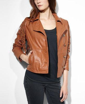 Levi's Fringed Western Leather Jacket
