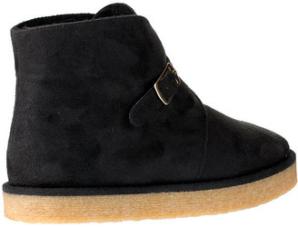 Stella McCartney Kickapoo faux suede ankle boot