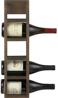 Crate & Barrel Mucchio 5 Bottle Wine Rack