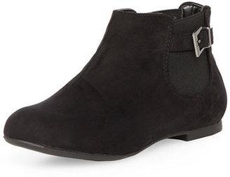Dorothy Perkins Black gusset chelsea boots