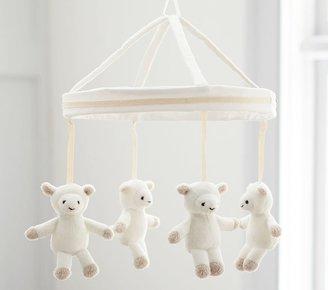 Pottery Barn Kids Harper Lamb Crib Mobile