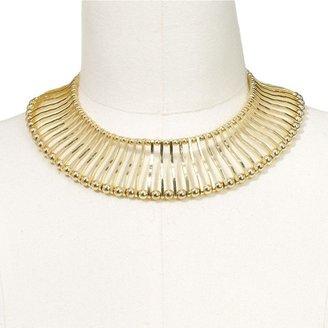 Apt. 9 gold tone collar necklace