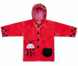 Kidorable Ladybug Raincoat, Little Girls