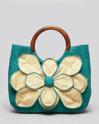 Mar y Sol Tote - Guadeloup Flower
