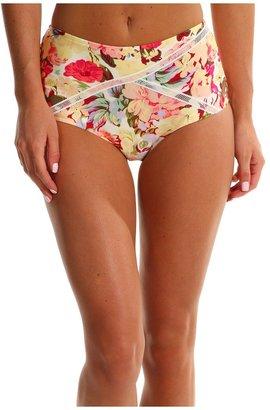 MinkPink Sadie '50s High Waisted Bikini Bottom (Multi) - Apparel