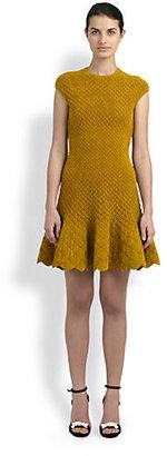 Alexander McQueen Knit Chenille Dress