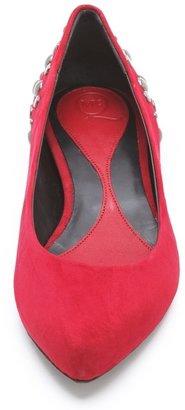 McQ by Alexander McQueen Alexander McQueen New Studded Ballet Flats