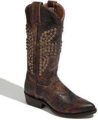 Frye 'Billy' Boot Womens Chocolate Size 5.5 M 5.5 M
