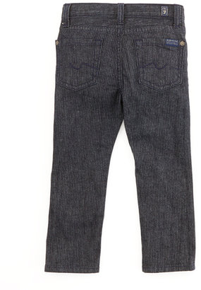 7 For All Mankind Slimmy Herringbone Jeans, 2T-3T