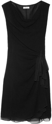 Nina Ricci Draped stretch-wool blend dress