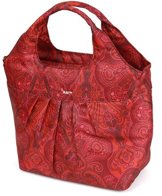 Rachael Ray paisley pleated tote