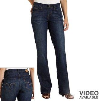 Levi's 529 curvy bootcut jeans