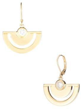 Trina Turk Fan Drop Earrings