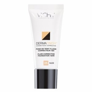 Vichy Laboratoires Dermafinish Corrective Fluid Foundation, Nude 25