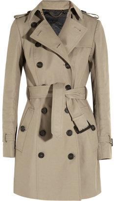 Burberry Mid-length gabardine trench coat