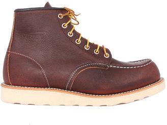 Red Wing Shoes 6 Inch Moc Work Boot in Briar Oil Slick