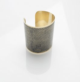 French Connection Deco Design Cuff