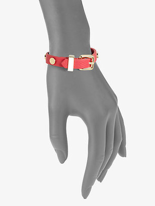 Marc by Marc Jacobs Leather Buckle Bracelet