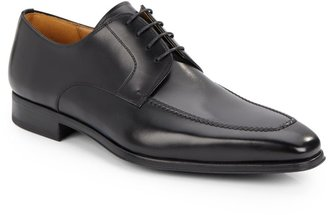 Magnanni Leather Moc-Toe Bluchers
