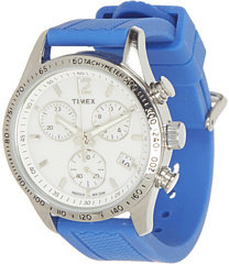 Timex Ameritus Chronograph Watch W/Silicone Strap