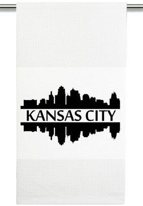 Mariasch Studios Kansas City Skyline Kitchen Towel