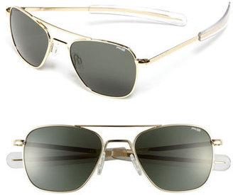 Men's Randolph Engineering 'Bayonet' 52Mm Sunglasses - Gold/ Agx $149 thestylecure.com