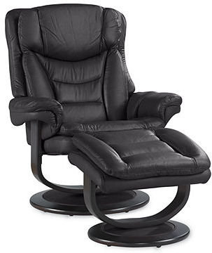 Impulse Swivel Recliner Chair with Ottoman