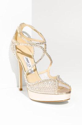 Jimmy Choo 'Fairview' Crystal Embellished Sandal