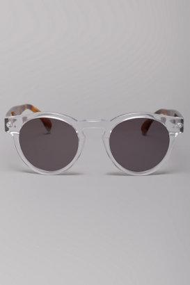 Illesteva Leonard Clear Sunglasses