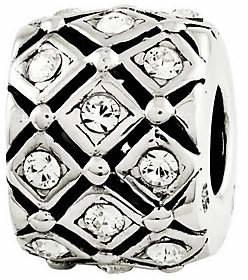 Prerogatives Sterling Swarovski Crystal Birthstone Bead $41 thestylecure.com