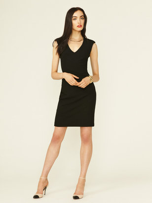Black Halo Jagger Mesh Dress