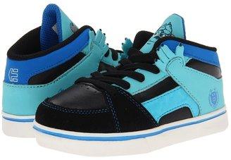 Etnies Disney Monsters RVM (Toddler) (Black/Blue) Boys Shoes