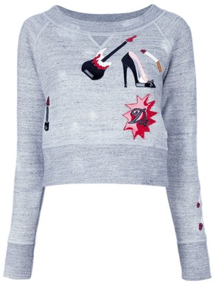DSquared DSQUARED2 cropped sweatshirt