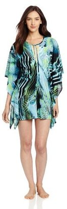 Betsey Johnson Women's Whisper Jersey Caftan