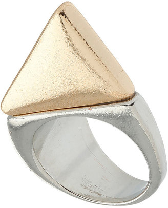 Topshop Abstract Shape Ring