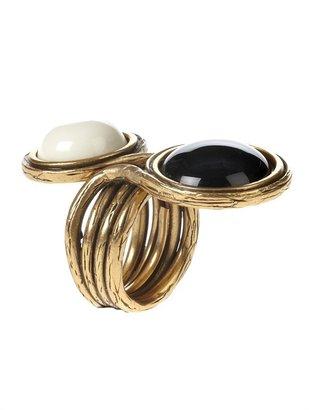 Oscar de la Renta Two Stone Ring