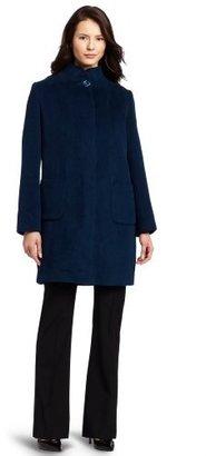 Kristen Blake Women's Patch Packet Walker Coat