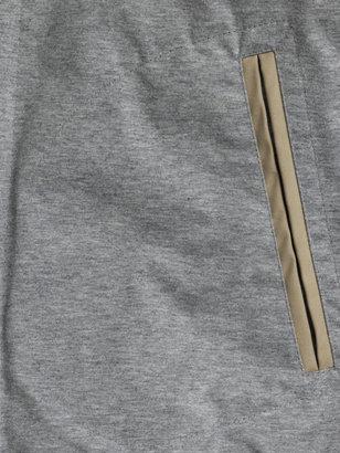 Moncler Blancar contrast-sleeve varsity jacket