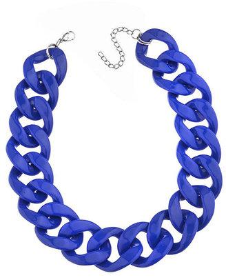Topshop Plastic Chain Necklace