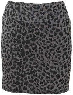 Alloy Cheetah Miniskirt