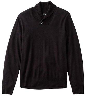 Apt. 9 merino shawl-collar sweater