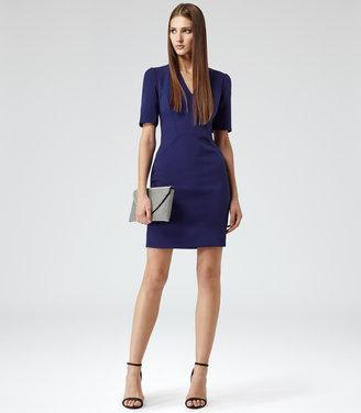Reiss Hailie V-NECK BODYCON DRESS