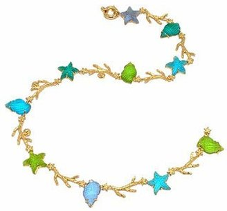 Tagliamonte Marina Collection - Blue & Green 18K Gold Necklace