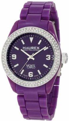 Haurex Italy Women's PV360DV1 Monte Carlo Swarovski Watch