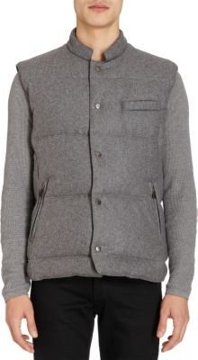 Barneys New York Quilted Vest